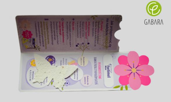 Zakładka do książki z nasionami
